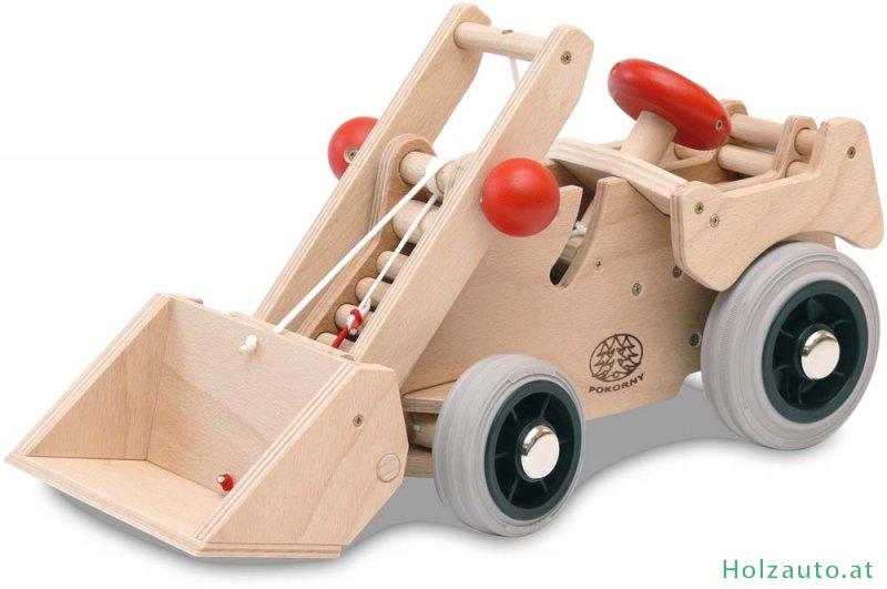 d9dde76f5e6417 Holzbagger - Holzspielzeug, Spielzeug aus Holz kaufen