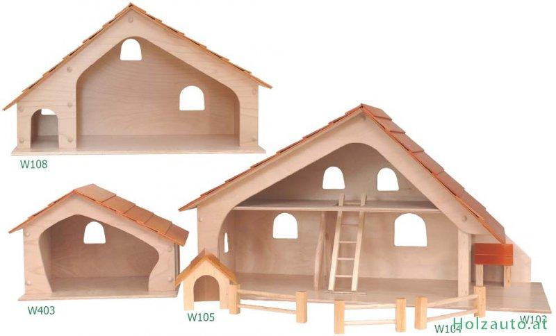 bauernhof aus holz holzspielzeug spielzeug aus holz kaufen. Black Bedroom Furniture Sets. Home Design Ideas